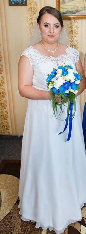 Sylwia Laszuk w sukni szytej w Salon Sukni DIANA